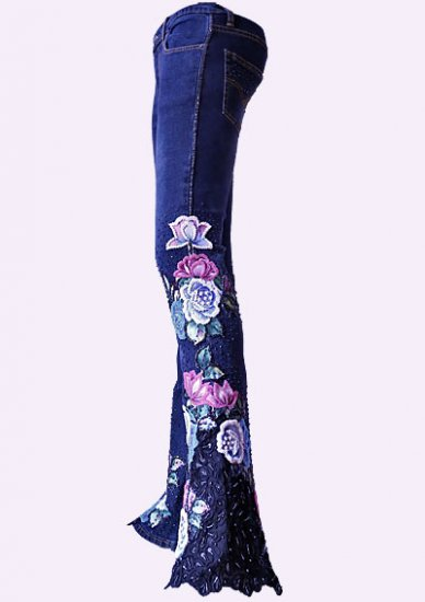 Bead Jeans BLUE ROSE - Click Image to Close