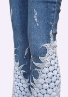 Lace Jeans SNOWFLAKE