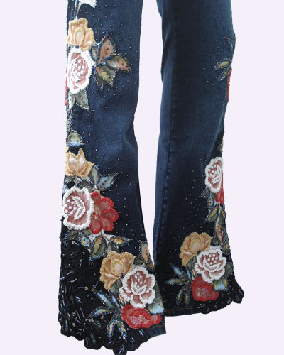 Bead Jeans NOUVELLE ROSE - Click Image to Close